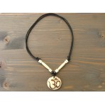 CT03 Collier Tibétain Symbole Om
